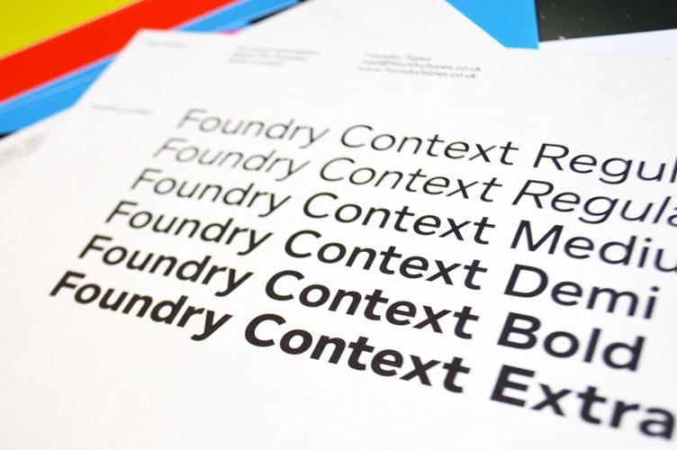 Foundry Context flyer reverse text.