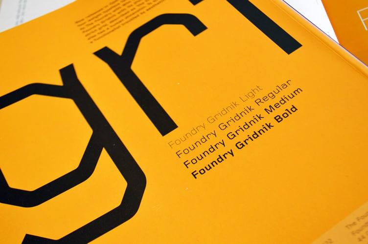 Foundry Gridnik, Grafik 164, July 2008, back cover.