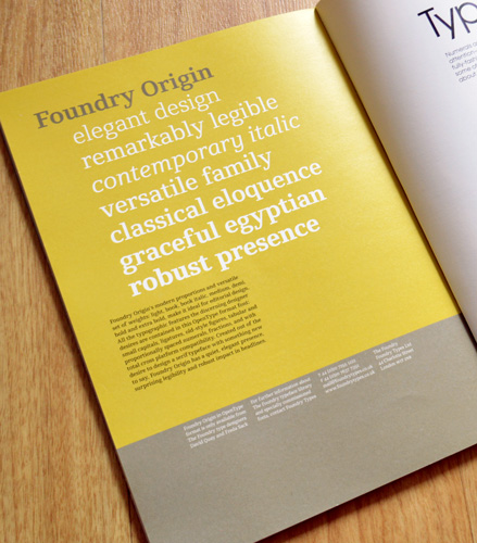 Foundry Origin, Grafik 167, Oct 2008, p.74