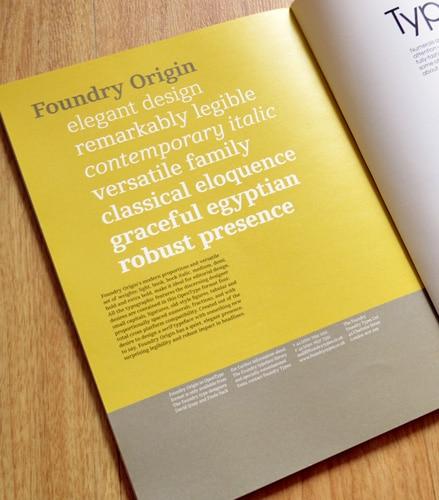 Foundry Origin, Grafik 167, Oct 2008, p.74