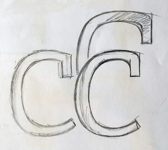 Foundry Origin 'c' terminal sketch.