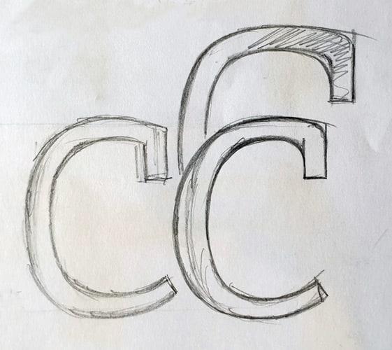 Foundry Origin 'c' terminal sketch.