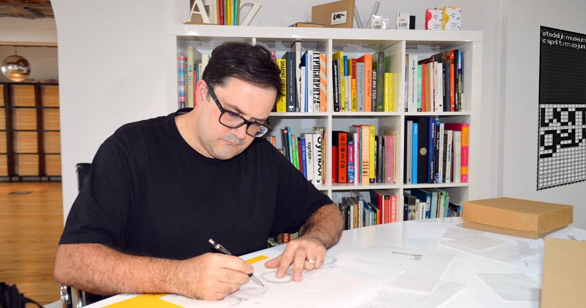 Stuart sketching