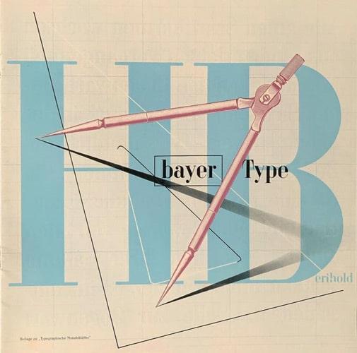 H. Berthold, Bayer-Type, 1933.