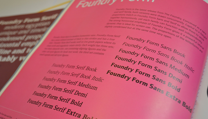 Foundry Form Sans Eye 31