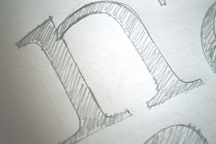 Foundry Old Style Pencil n