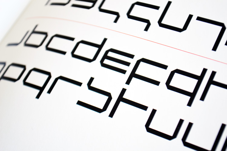 Wim Crouwel's New Alphabet specimen from 1967.