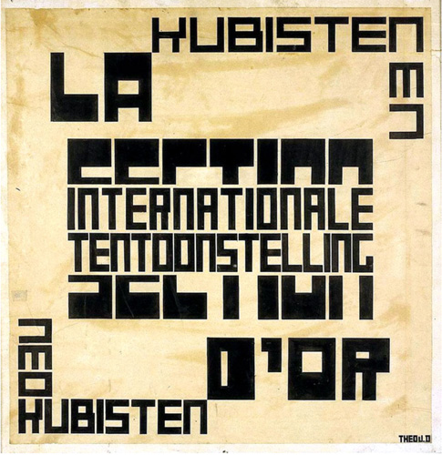 Van Doesberg's 'La Section d'Or', 1920