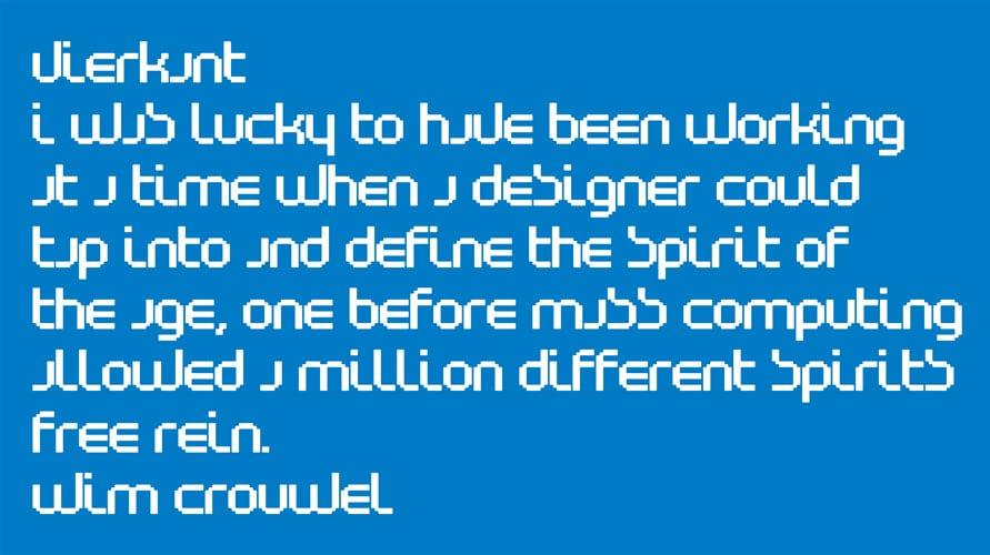 Wim Crouwel quote