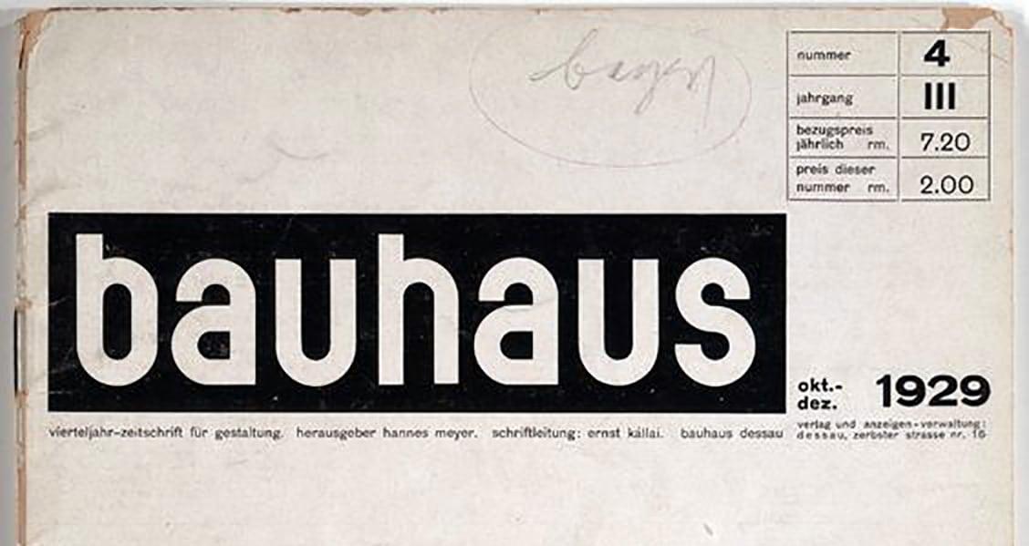 Bayer Bauhaus logo