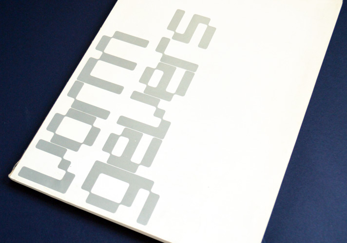 Wim Crouwel's 'Stedelijk Museum Amsterdam – vorm gevers', catalogue from 1968.