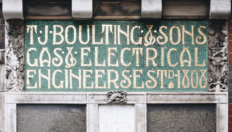T J Boulting & Sons, a Scottish Arts & Crafts influenced building
